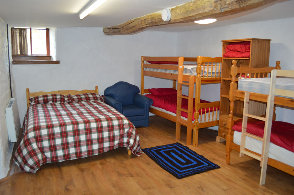 Family bedroom at wild wool barn