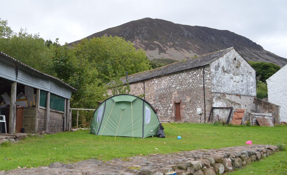 Camping in Ennerdale