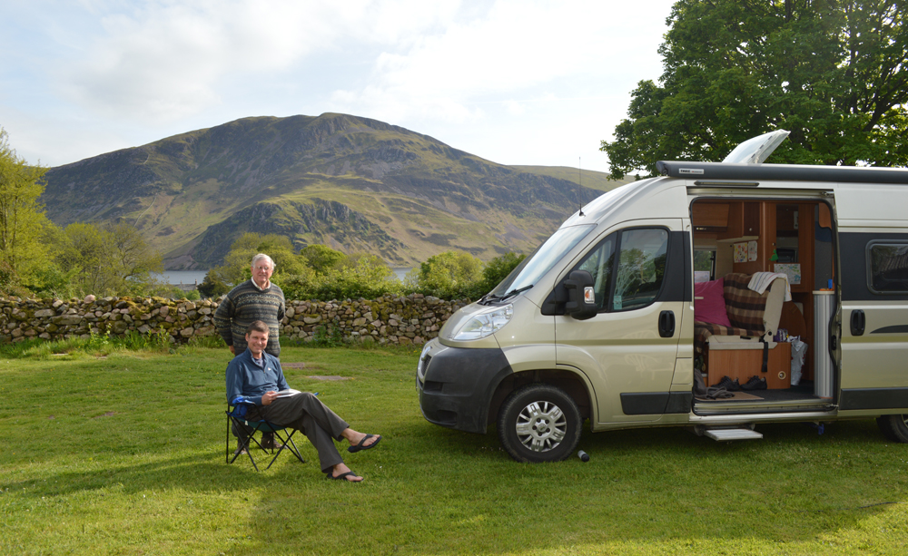 Motor Homes welcome Lake District