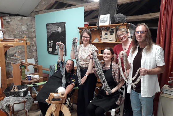 Spinning and Weaving Weekend Workshops