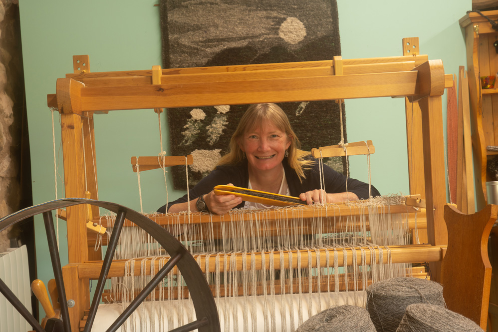 Wild Wool Workshop - cumbria - Herdwick - loom -